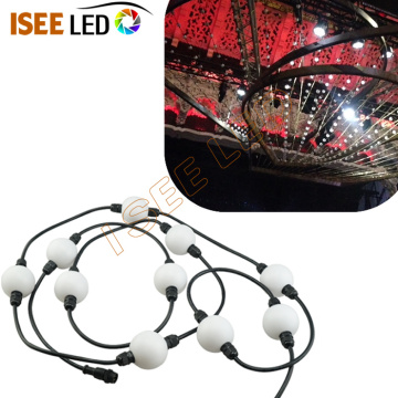 Milky 360degree Decorative 3D Pixel Bead Ball