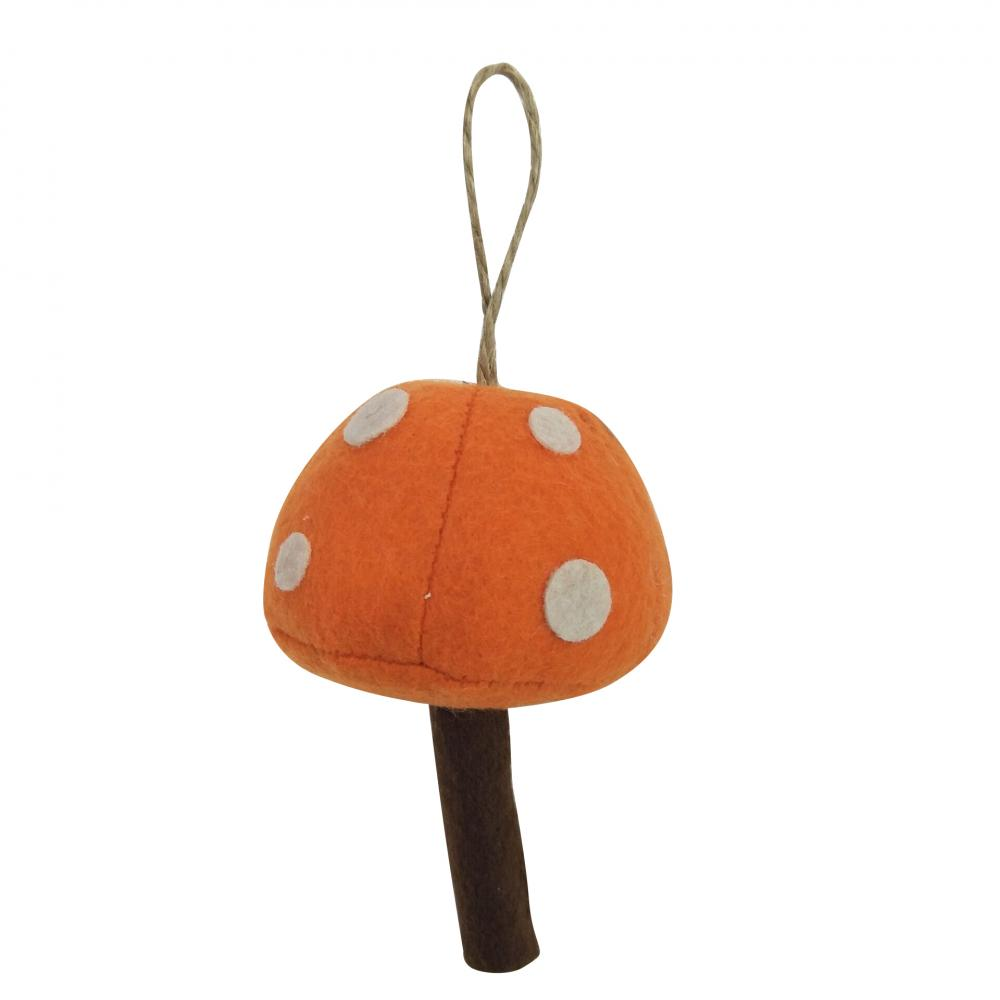 Christmas Mushroom Shape Ornaments
