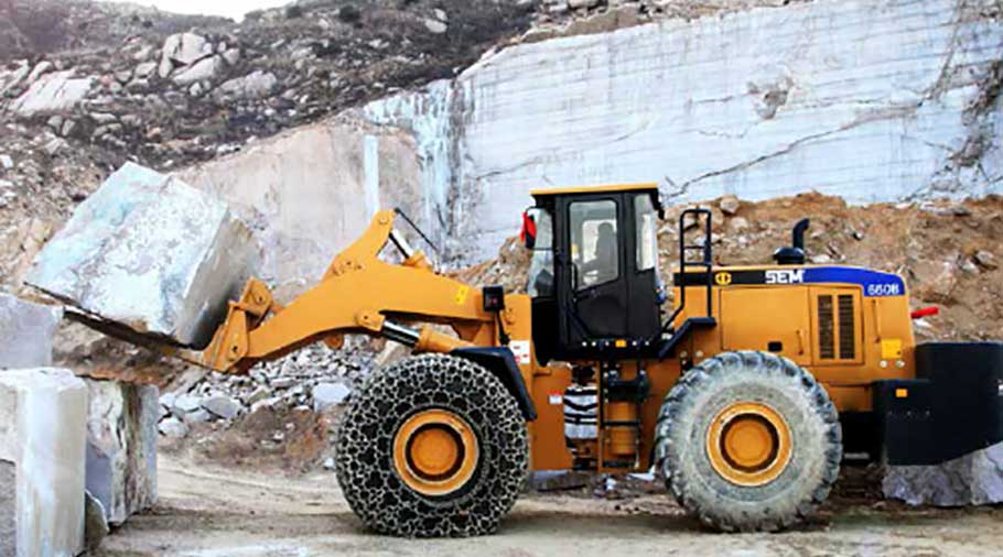 rock wheel loader