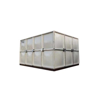 Noninsulated GRP SMC Sectional Water Treatment Tank