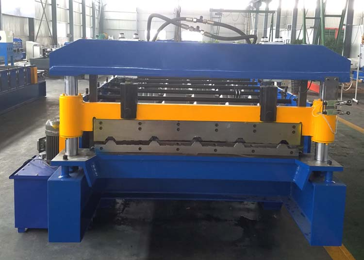 metal roofing panel machine