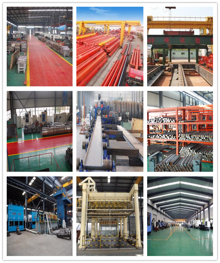 gantry crane producing process