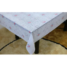 Printed pvc lace tablecloth big size