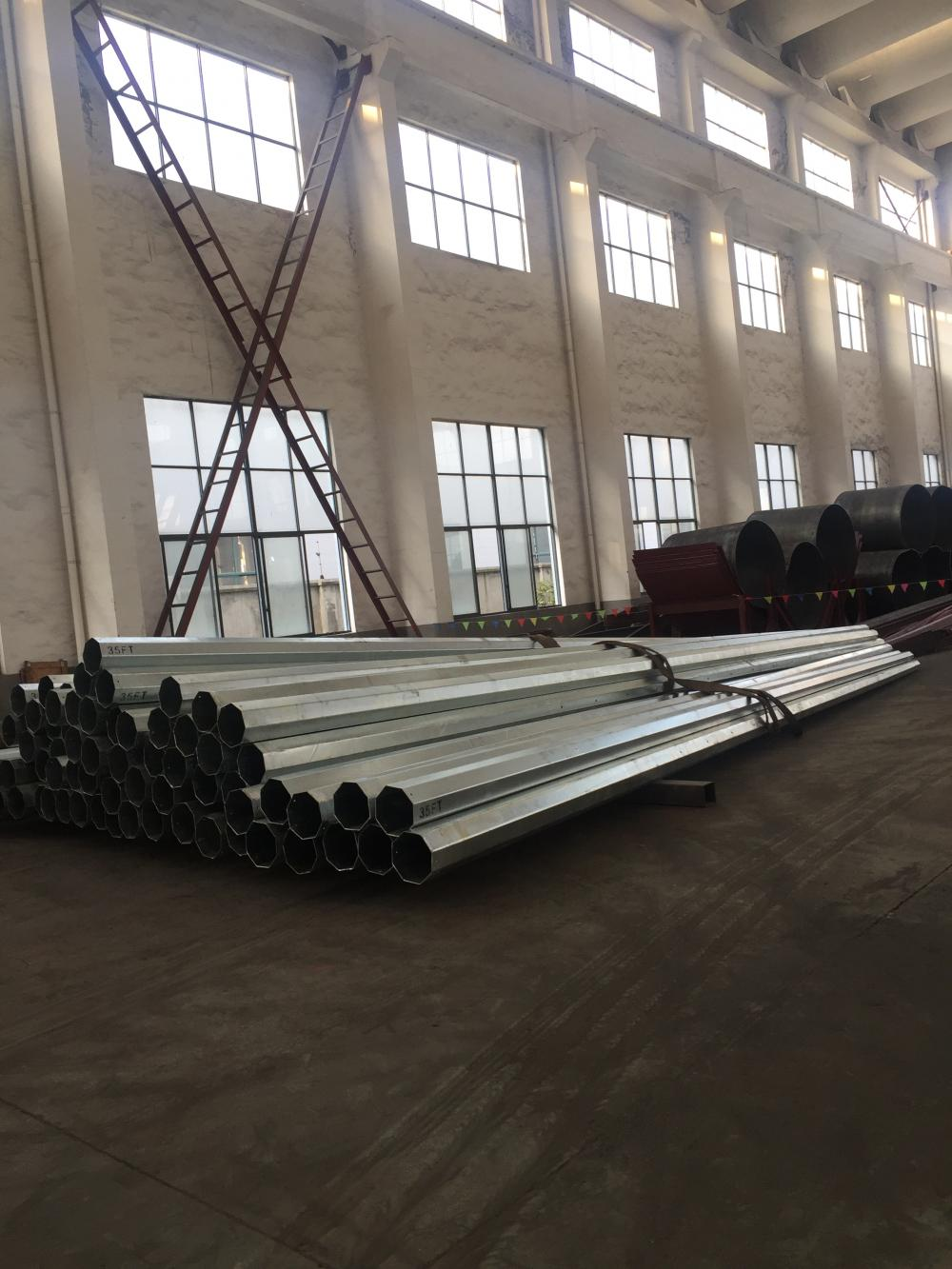 35FT Octagoanl Steel Pole