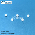 Filter for Hitachi G5 machine