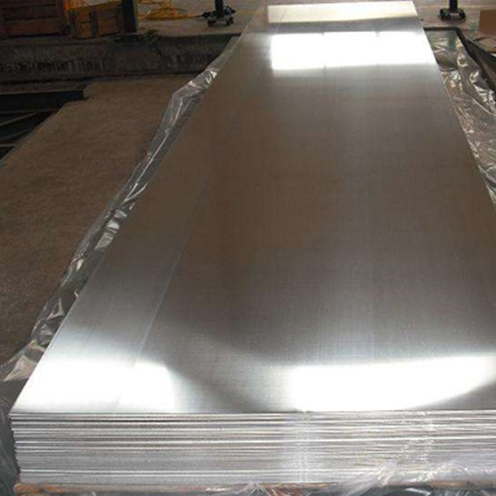85%~90% Reflection Polished Aluminum Mirror Sheet Factory