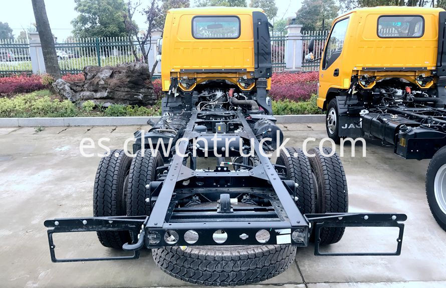 wheel lift towing vehicles chassis 4