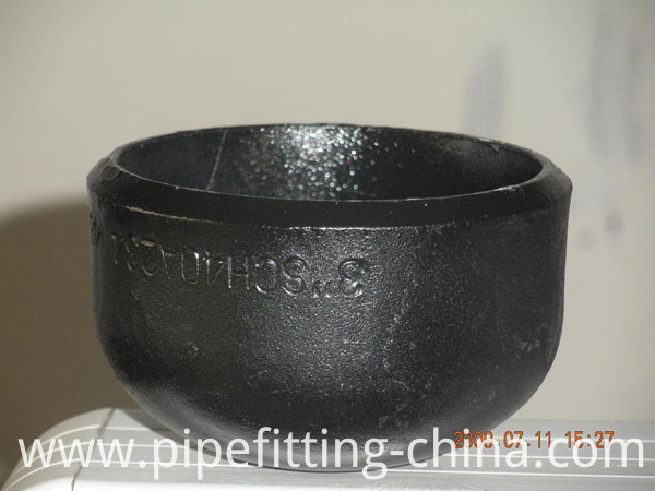 schedule 40 steel pipe cap