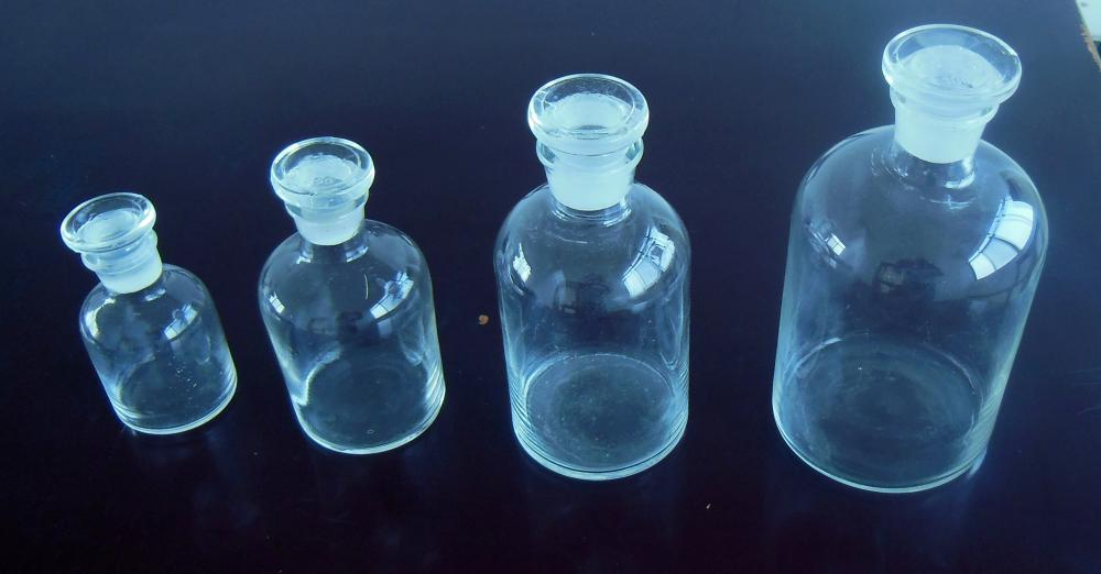Reagent Bottle Clear