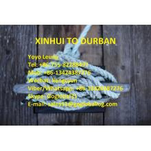 Jiangmen Xinhui Sea Freight to South Africa Durban