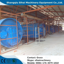 waste tire pyrolysis plant with free installation