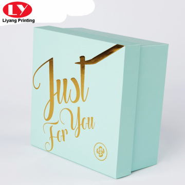 custom low price luxury logo cosmetic box