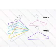 China OEM for Metal Pvc Coating Black Hangers Lanhome Shiny Baby Metal Hangers export to France Importers