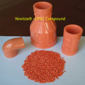 Chlorinated Polyvinyl Chloride CPVC compound pipes fittings