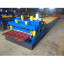 Steel Step Roof Tile Roll Forming Machinery