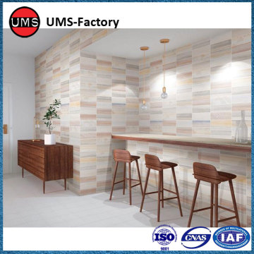 Glazed indoor rustic tiles wall
