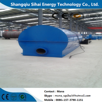 Used Engine Oil Recycling to Diesel Plant