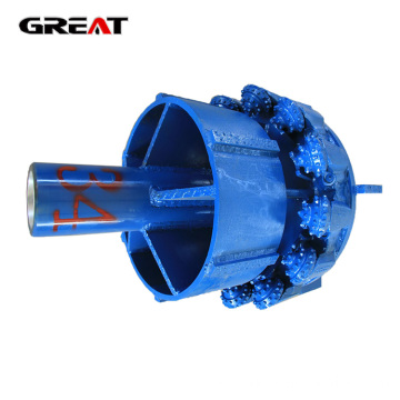 Horizontal directional trenchless reamer TCI drilling bit