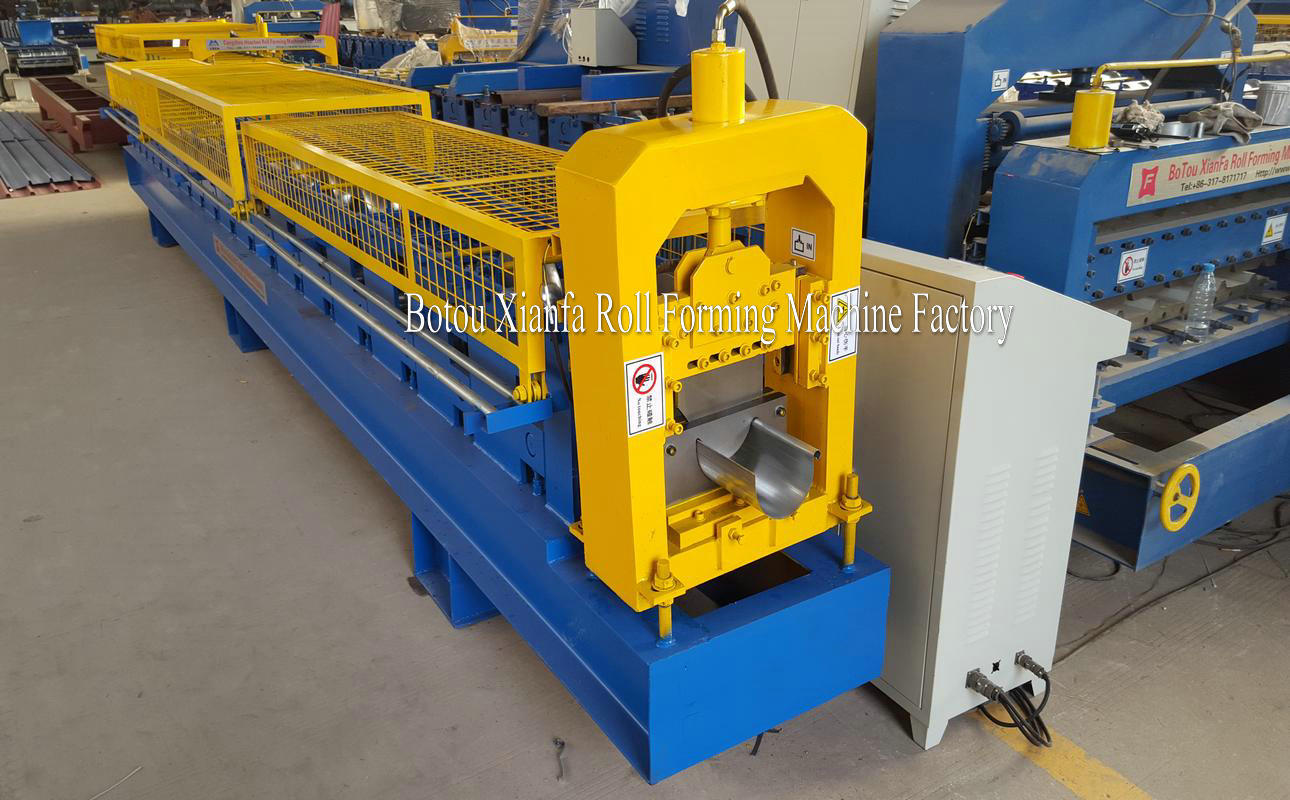 metal gutter roll forming machine