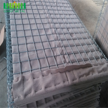 Gabion Cage Welded Hesco Flood Barriers