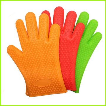 Trade Assurance Silicone Baking Gloves With Fingers