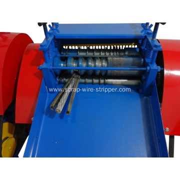 semi-automatic  copper cable wire peeling machine