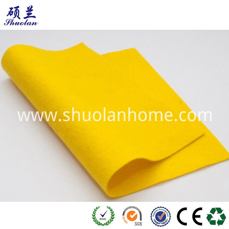 Yellow Color Felt