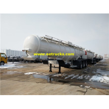 20000 Litres 3 axles Sulfuric Acid Road Trailers