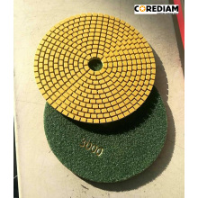 180mm Diamond Wet Polishing Pad