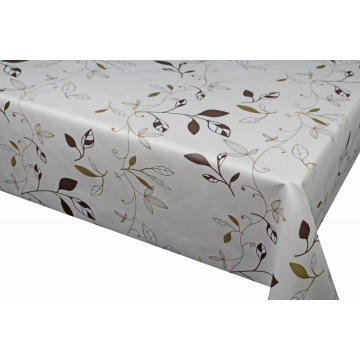 Pvc Printed fitted table covers Runner on Dresser
