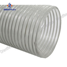 China for PVC Steel Wire Duct Tube Dust removal pvc steel wire flexible duct tubing supply to United States Factory