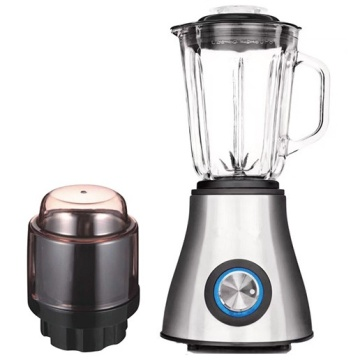Powerful ice crusher glass jar food blender processor