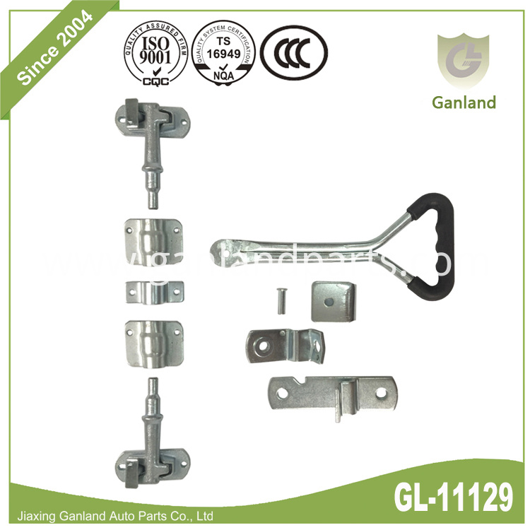 Steel cam-action door latch GL-11129