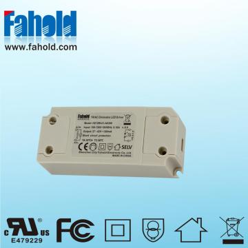 China Gold Supplier for Led Lighting System 12W Triac Dimming Constant Current Led Driver export to France Manufacturer