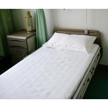 180TC plain white sheet sets for hospital