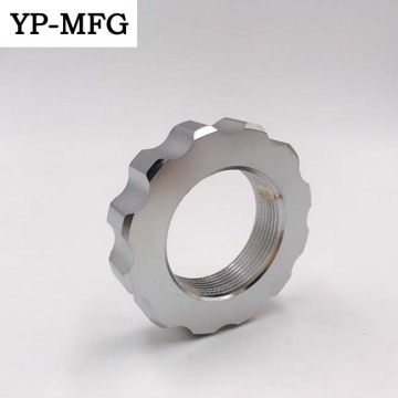 CNC Lathe machining steel motorcycle parts