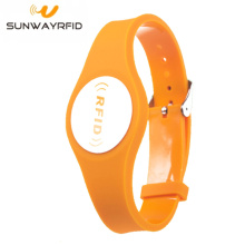 Watch Buckle Strap Waterproof PVC RFID Wristband