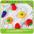 Group  vegetable&fruit  Eraser,children toys eraser