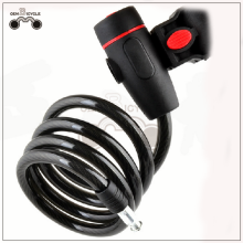 Super safe black bicycle cylinder lock