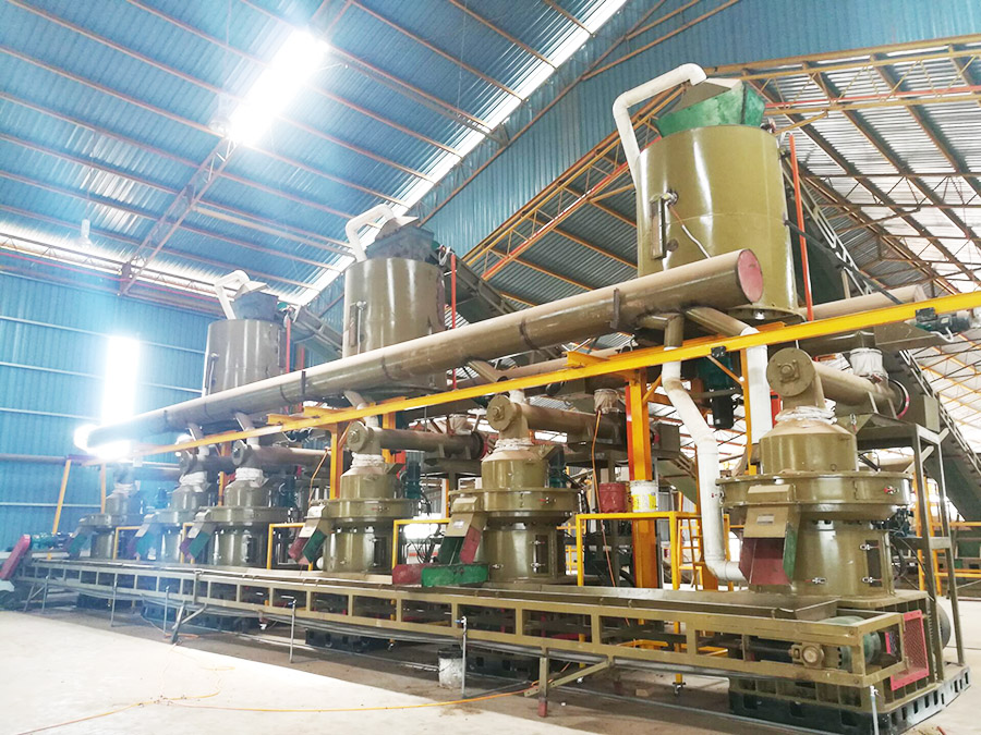 Rice Husk Pellet Production Line