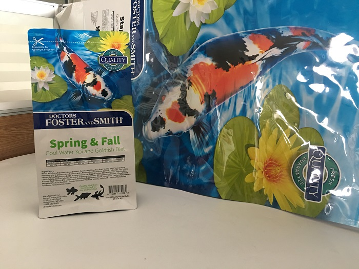 Koi Food Bag
