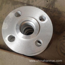Aluminum alloy forged threaded flange