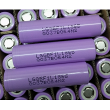 Best Quality for Flashlight Battery Tactical Flashlight Battery LG 18650 F1L (18650PPH) supply to Martinique Factories