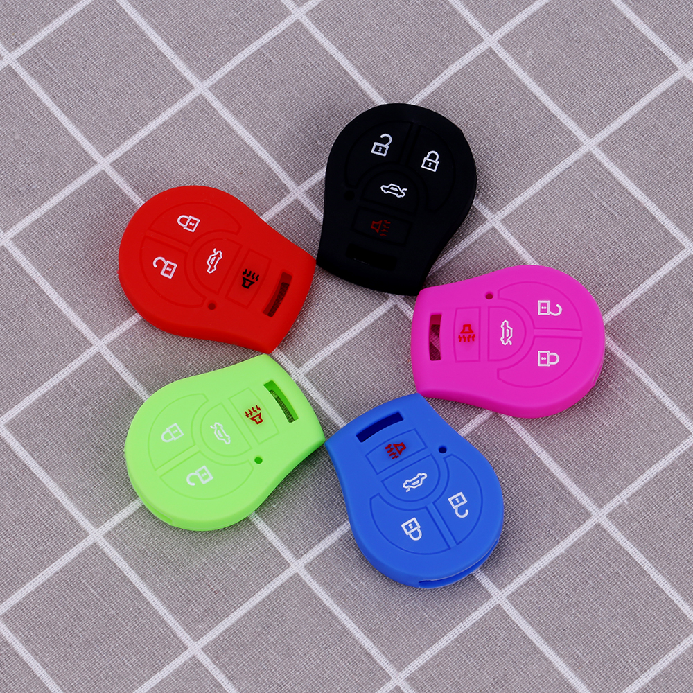 silicone nissan key fob cover