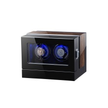 Touch screen wooden watch winder