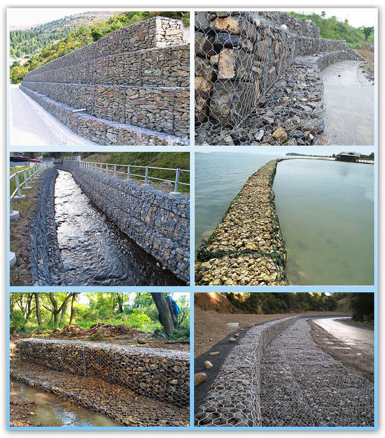 gabion wire mesh application