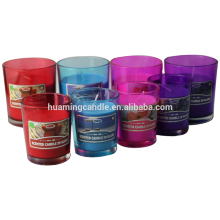 Factory supplied for Square Frosted Jar Candles Wholesale Candle  Jar And Luxury Glass Candle export to Russian Federation Suppliers