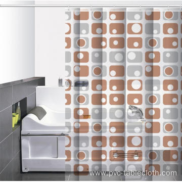 Waterproof Bathroom printed Shower Curtain Home Depot