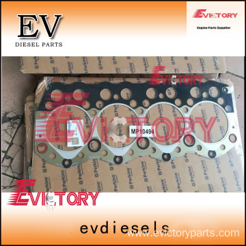 excavator 804C engine gasket bearing piston ring liner