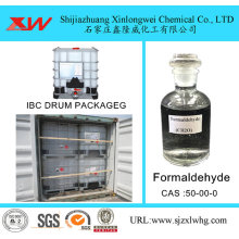 Good Quality for Formaldehyde Solution Used For Adhesive Tech Grade Formaldehyde Solution 37% 40% export to Portugal Importers
